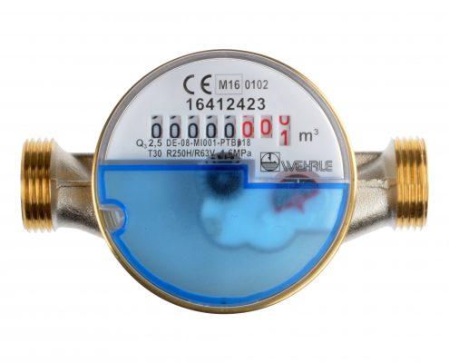 Einstrahl-Trockenläufer Modularis Kaltwasser Q3 2,5 110mm G3/4B Draufsicht